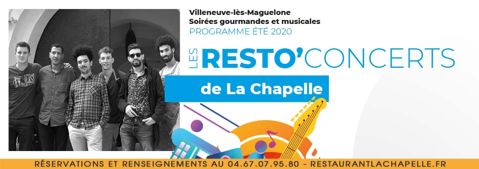 Flyer resto'concert barbiches tourneurs